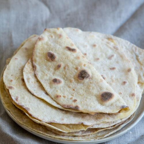 Tortillapandekager med kartofler
