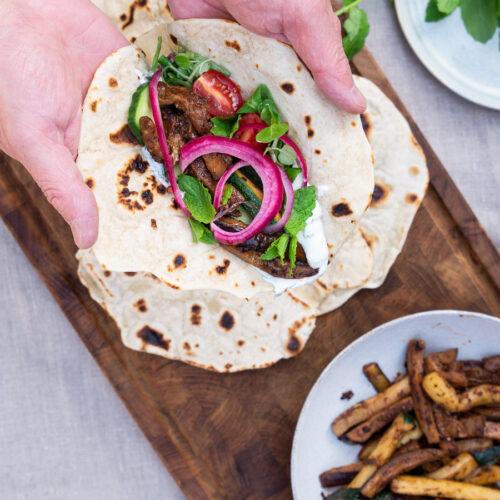 Vegetarisk shawarma