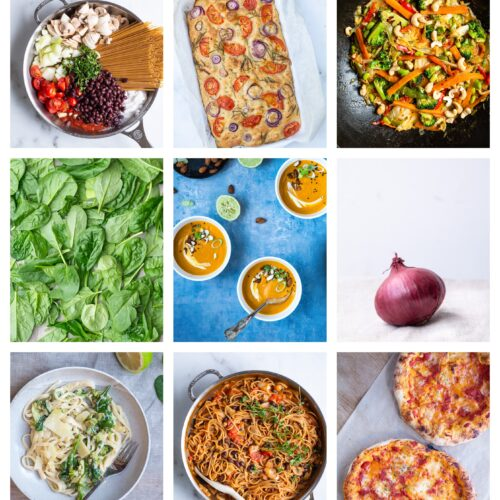 Vegetar madplan uge 35