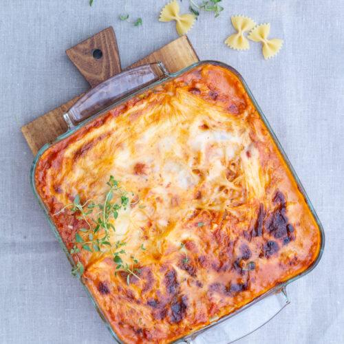Vegetarisk lasagnette