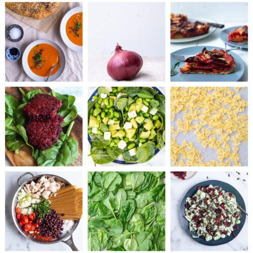 Vegetarisk madplan uge 41